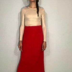 🌼NEW🌼 1970s knit midi skirt